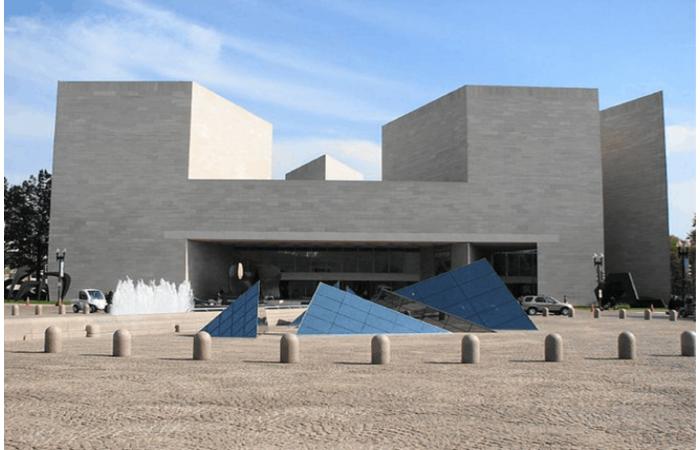 美国国家美术馆新馆设计效果图—贝建中
