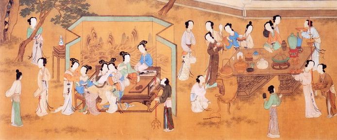 古代七夕节