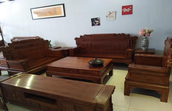 红木家居兰亭序沙发-- 汪氏信业轩红木家具