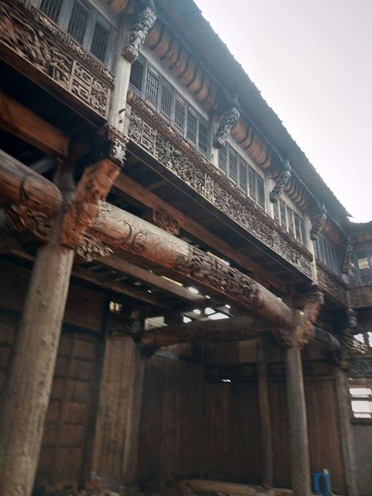 江西婺源徽古建筑图片