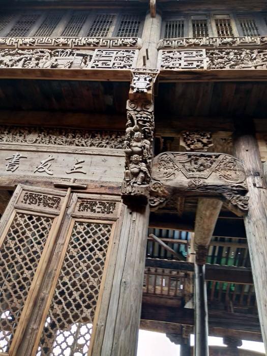 婺源徽古建筑图片