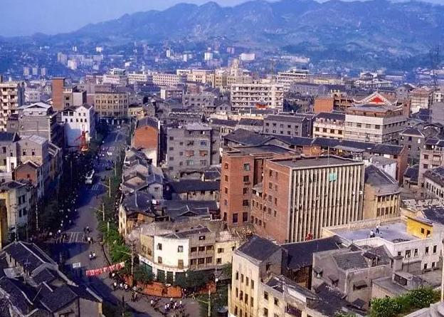 七八十年代的重庆市