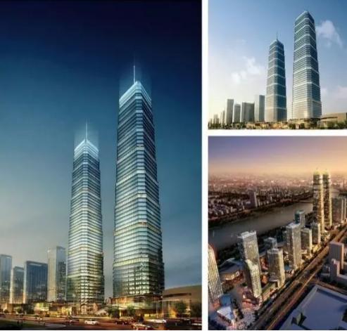近十来年建成的城市建筑