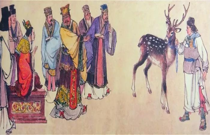 """【古建中国成语百科】""""指鹿为马"""":一场别有用心的阴谋!"""