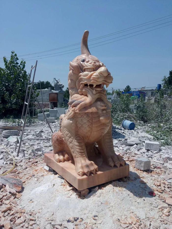 专业制作石狮,貔貅,天禄-- 嘉祥宏胜石业有限公司
