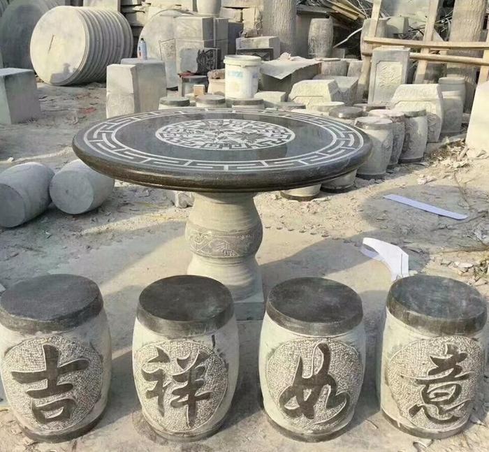石桌_石桌石凳_石桌图片价格-- 嘉祥宏胜石业有限公司
