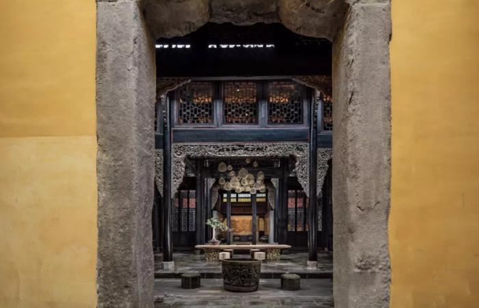 院、宅、园——中国式居住的典型结构