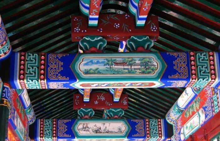 """古建筑上的""""豪华外衣""""——苏式彩画"""