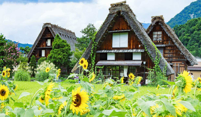 Risultato immagini per historic villages of shirakawa-g� and gokayama