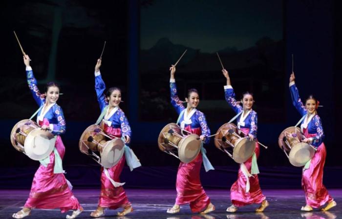 非遗传承:热血沸腾,激动人心的朝鲜族长鼓舞!