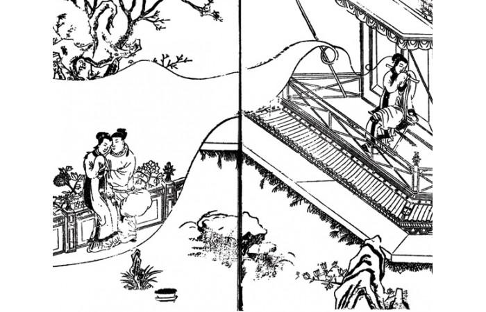 古版画小说类纹样元素(二)