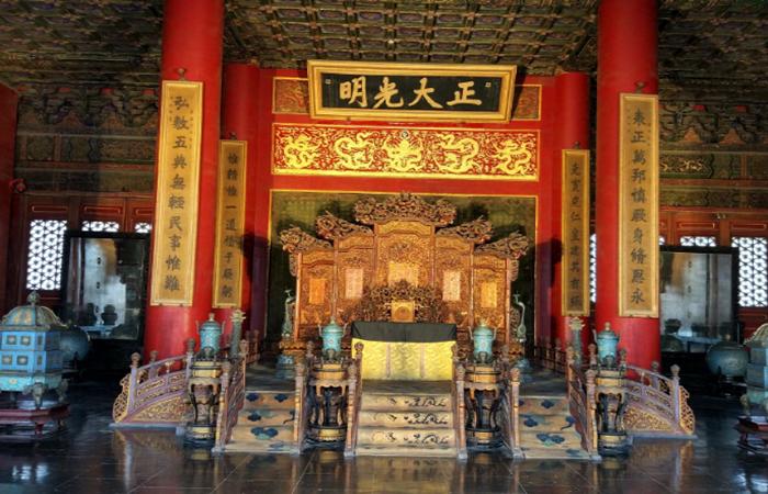 皇家宫殿的这些匾额,它们的含义你知道吗?