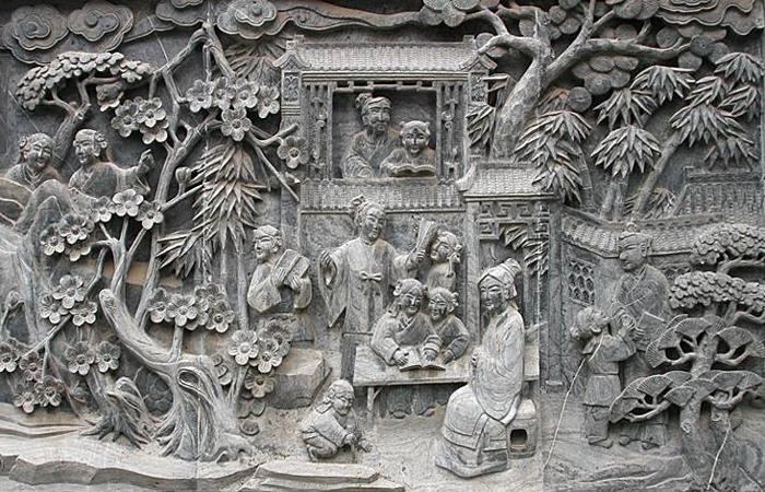 古建中国传统建筑雕刻艺术--徽州砖雕!