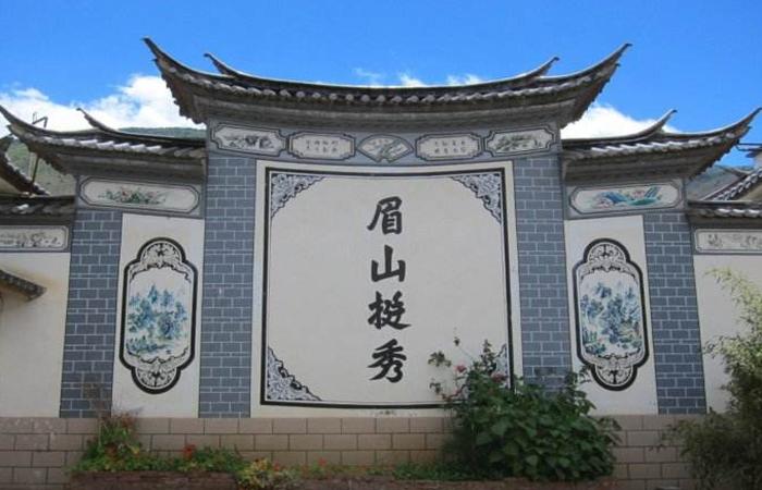 古建中国建筑技艺——白族民居彩绘!