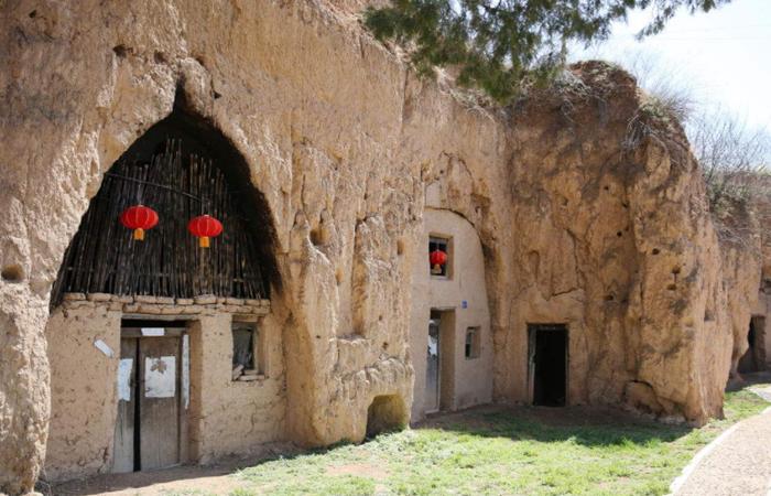 """來自黃土高坡的古建筑民居:""""穴居式""""的""""窯洞"""""""