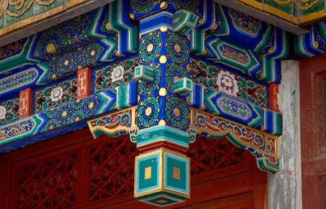 中国传统民居彩绘