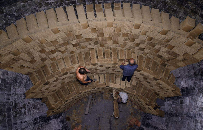 中国古建筑民居中的材料——石灰窑、砖瓦窑