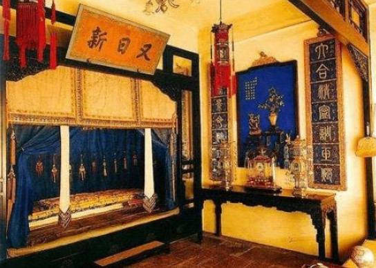 故宫养性斋雍正皇帝卧室