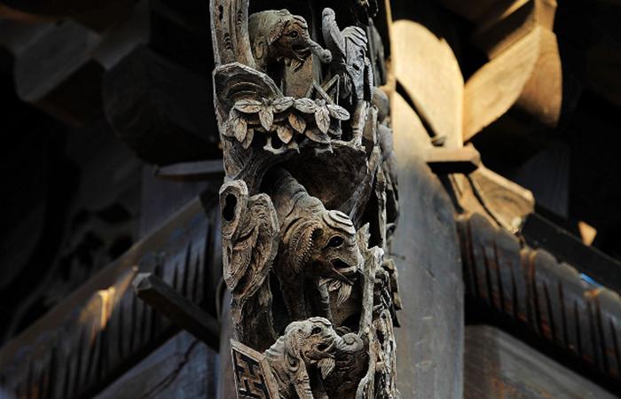 潮汕传统建筑中的雀替——力与美的和谐