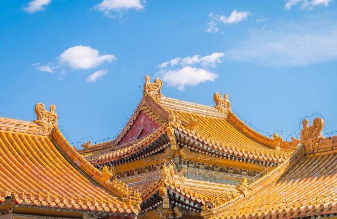 中国古建筑屋顶