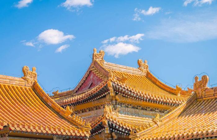 中国古建筑屋顶有哪些常见的类型?