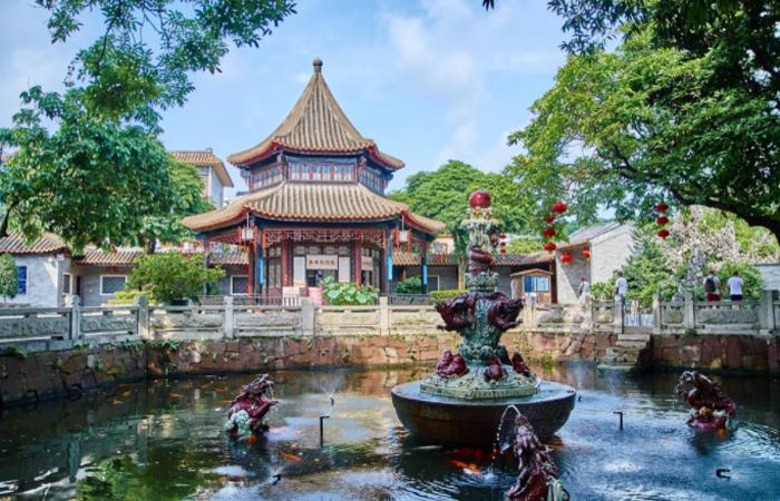岭南园林的代表之一:如诗如画的清晖园
