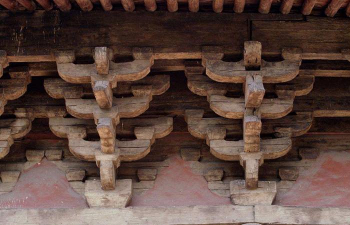 中国古建筑的斗拱结构,究竟是什么原理?