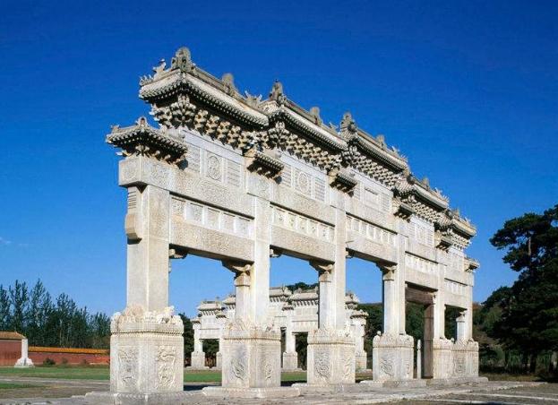 古代石材牌坊