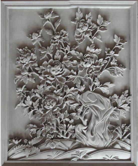 花开富贵砖雕