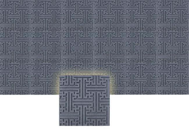 砖雕花板系列几何
