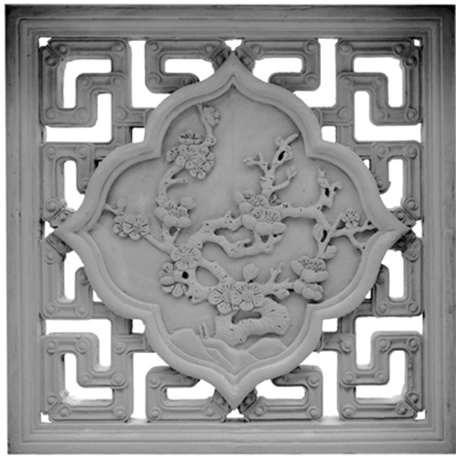 围墙砖雕窗、寺庙花窗、古建镂空窗、青砖镂空窗-- 成都府源古建装饰材料有限公司