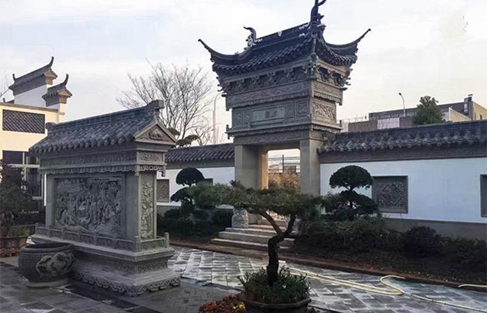 古典砖雕产品应用案例--古建项目