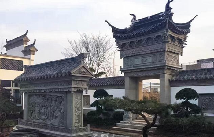 古典砖雕产品应用案例--旅游景区