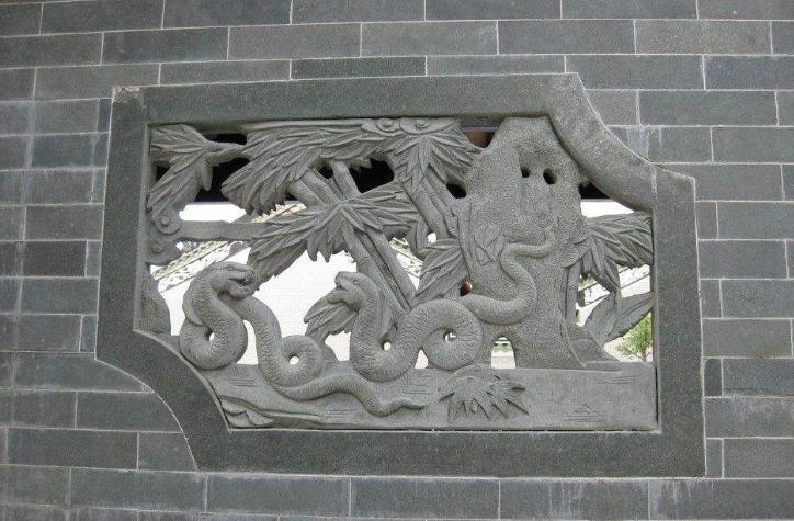 中国古建筑的石雕动物