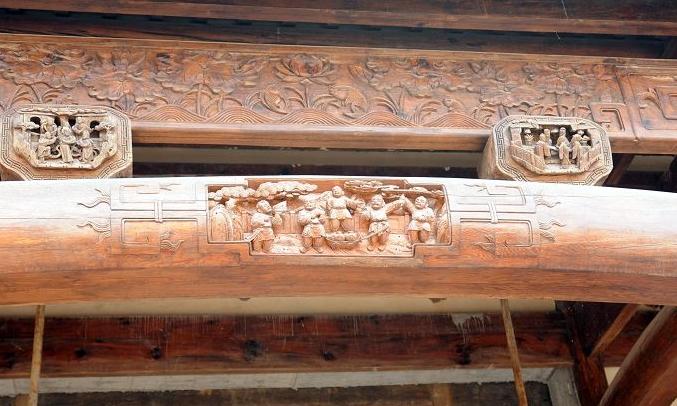 古代建筑中常用木材