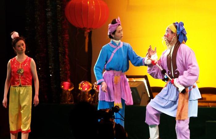 非遗传承传统民间小戏——灯戏