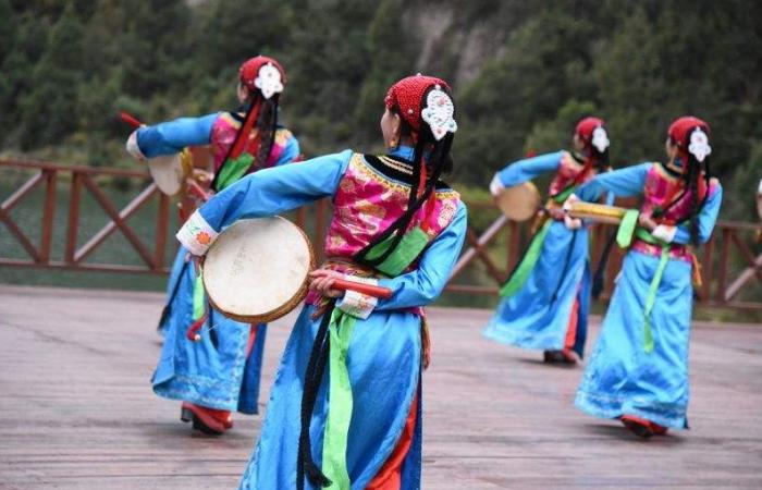 【非遗传承】带有美好祈祷的舞蹈——巴郎鼓舞