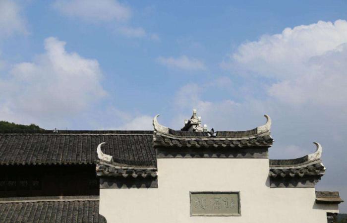 徽派建筑的砖雕、马头墙、飞来椅等细部知识点!
