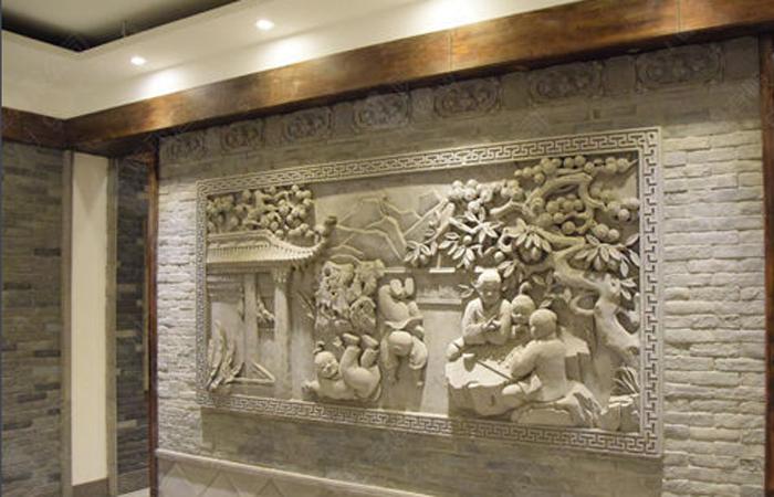徽州砖雕的用途以及砖雕分类知识!