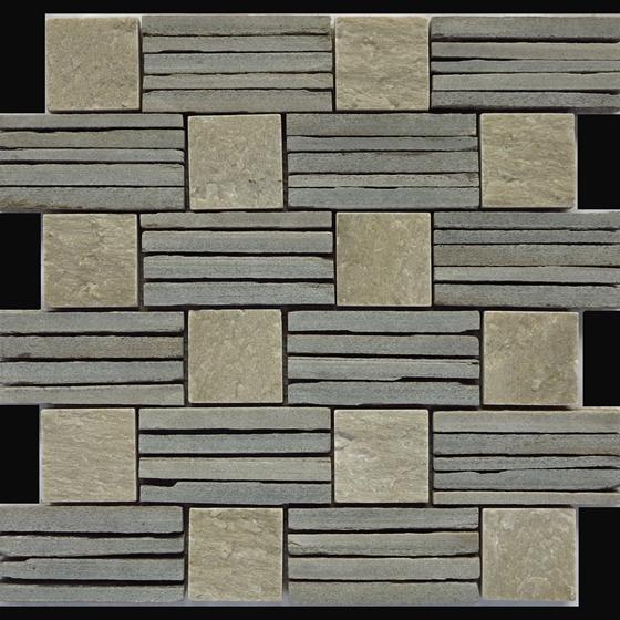 板岩镶嵌艺术石,艺术石价格,编织效果石材-- 磊富艺术石业有限公司
