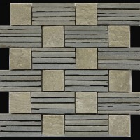 板岩镶嵌艺术石,艺术石价格,编织效果石材
