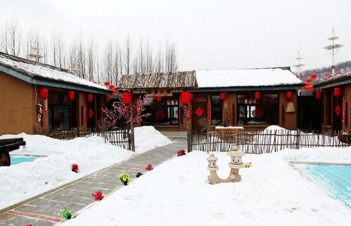 中国传统民居建筑中,看瓦房的四季之美!