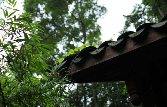 中国古代建筑中,滴水青瓦是什么?
