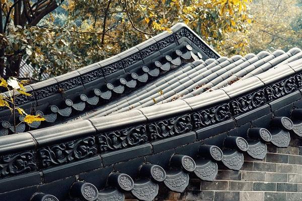 琉璃瓦屋顶造型图片