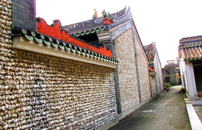 蚝壳墙——岭南建筑中独特的建筑材料