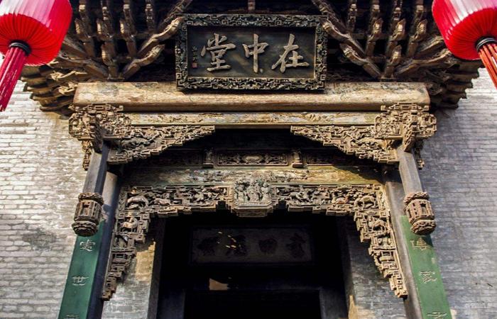 门楣——古代传统建筑的装饰艺术