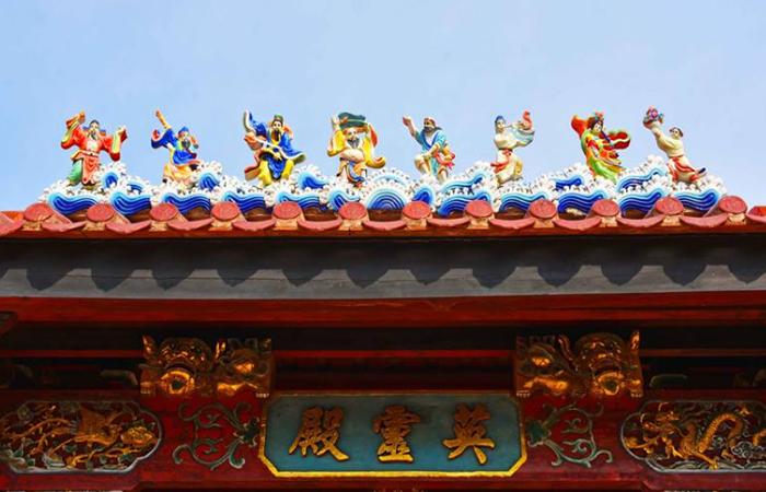 """闽南文化:门楣上挂""""彩"""",一种民间习俗!"""