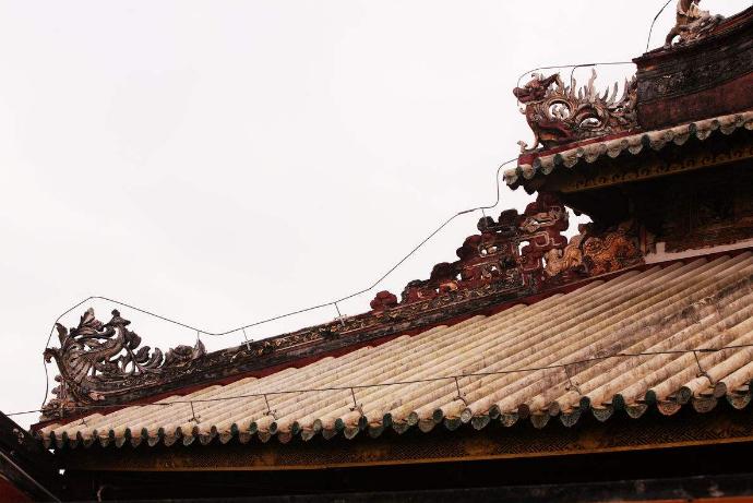 中国古建筑的屋脊曲线
