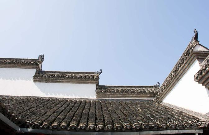 中国古建筑屋瓦艺术