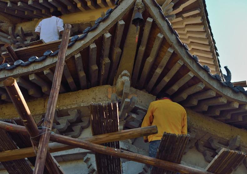 古建筑修复